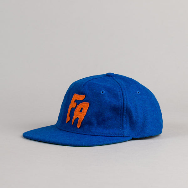 Fucking Awesome Classic FA Cap - Reflex Blue / Orange