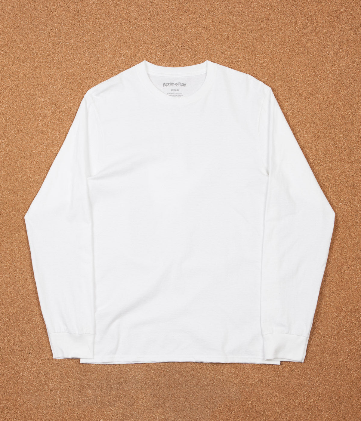Fucking Awesome Dice Hand Long Sleeve T-Shirt - White