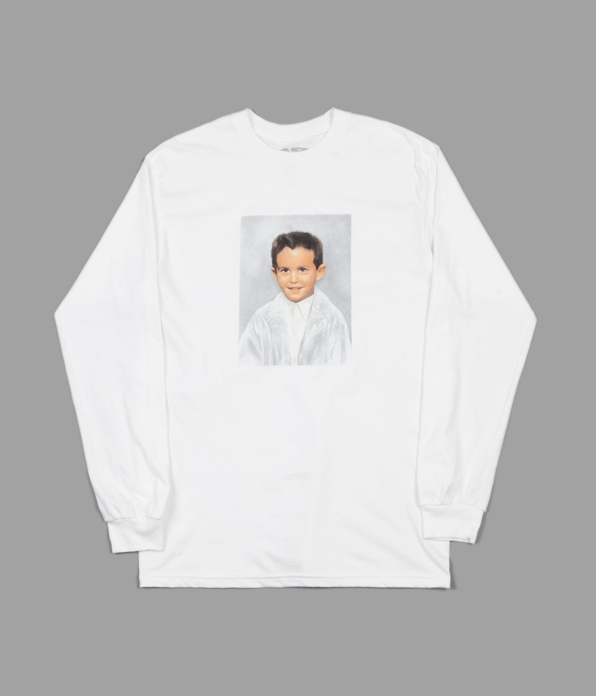 Fucking Awesome Dylan Long Sleeve T-Shirt - White