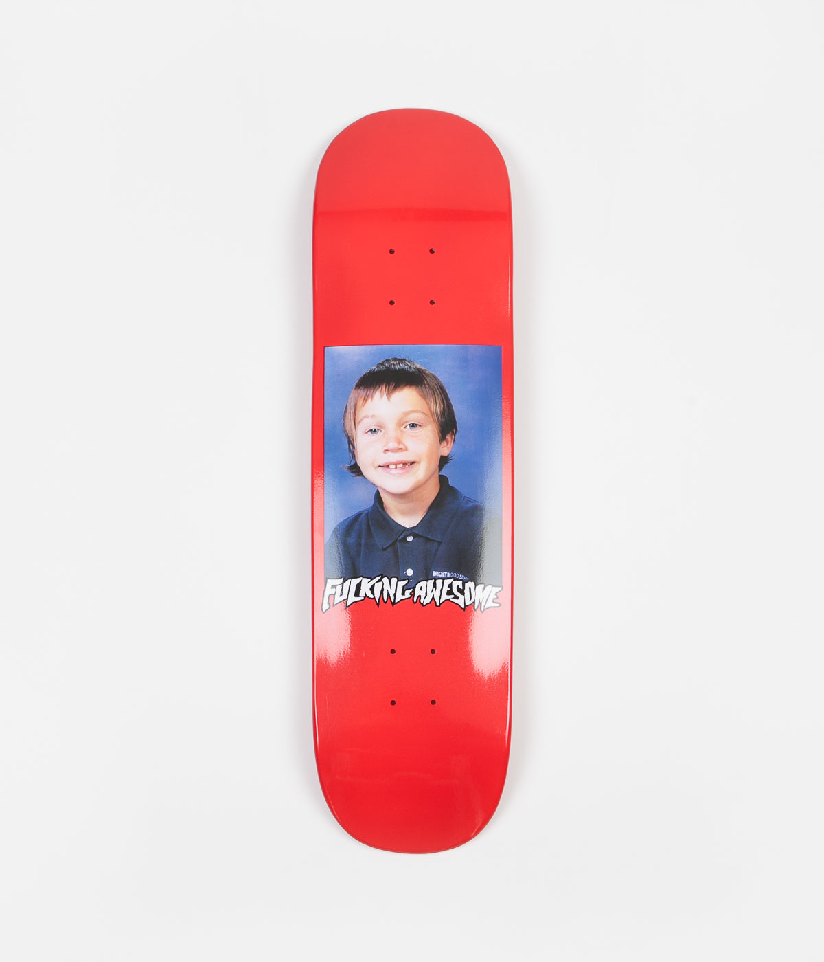 Fucking Awesome Elijah Class Photo Dipped Deck - Red - 8.25""