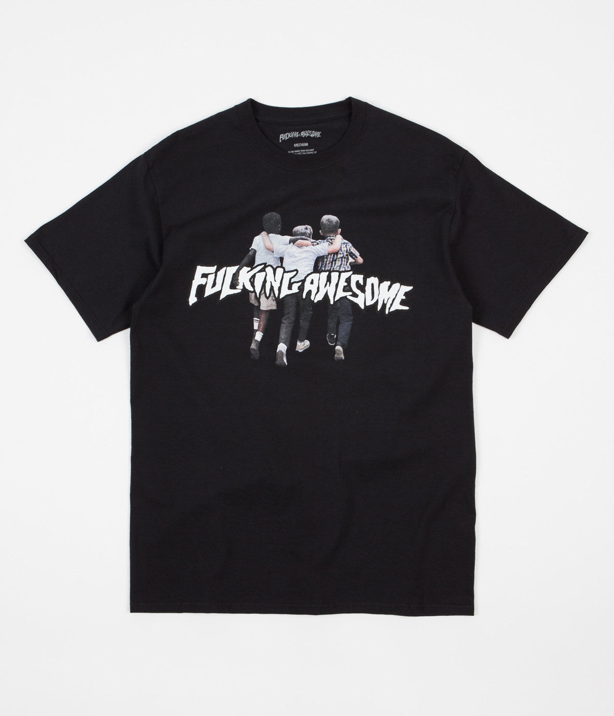 Fucking Awesome Friends T-Shirt - Black