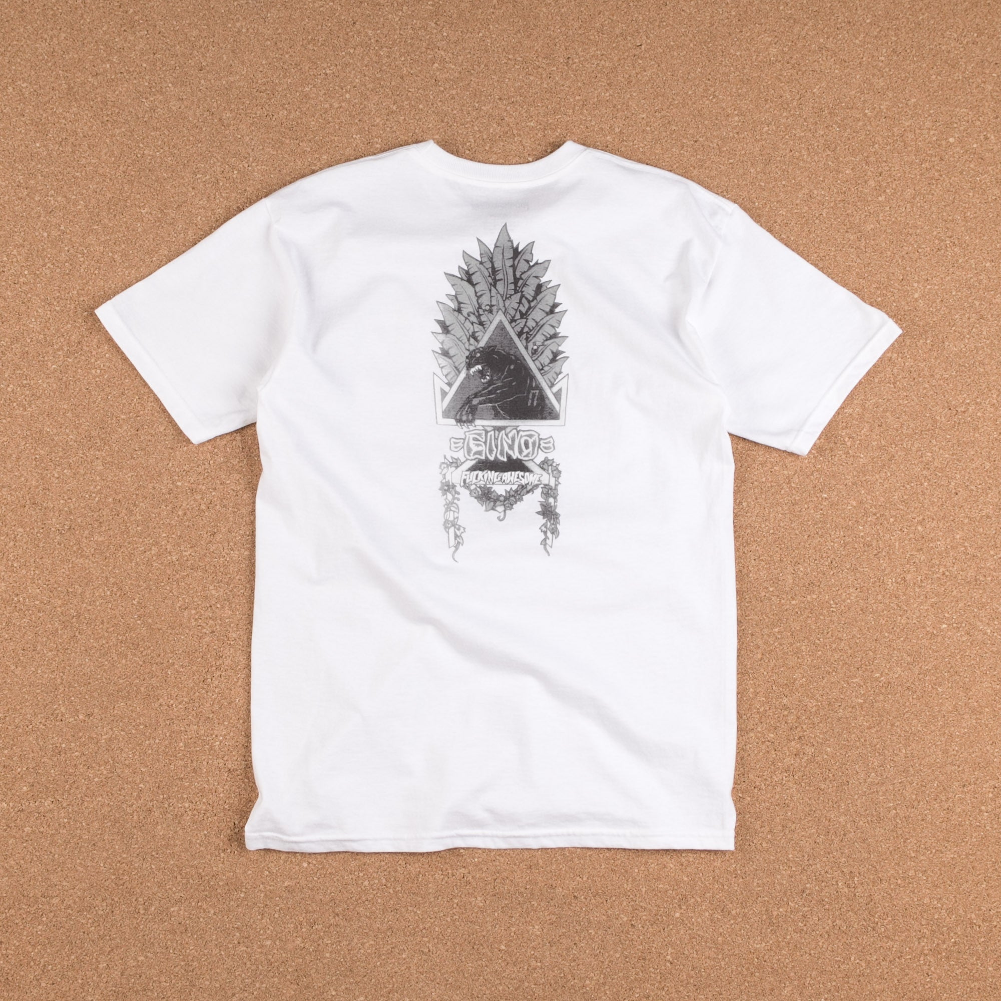 Fucking Awesome Gino Bootleg T-Shirt - White