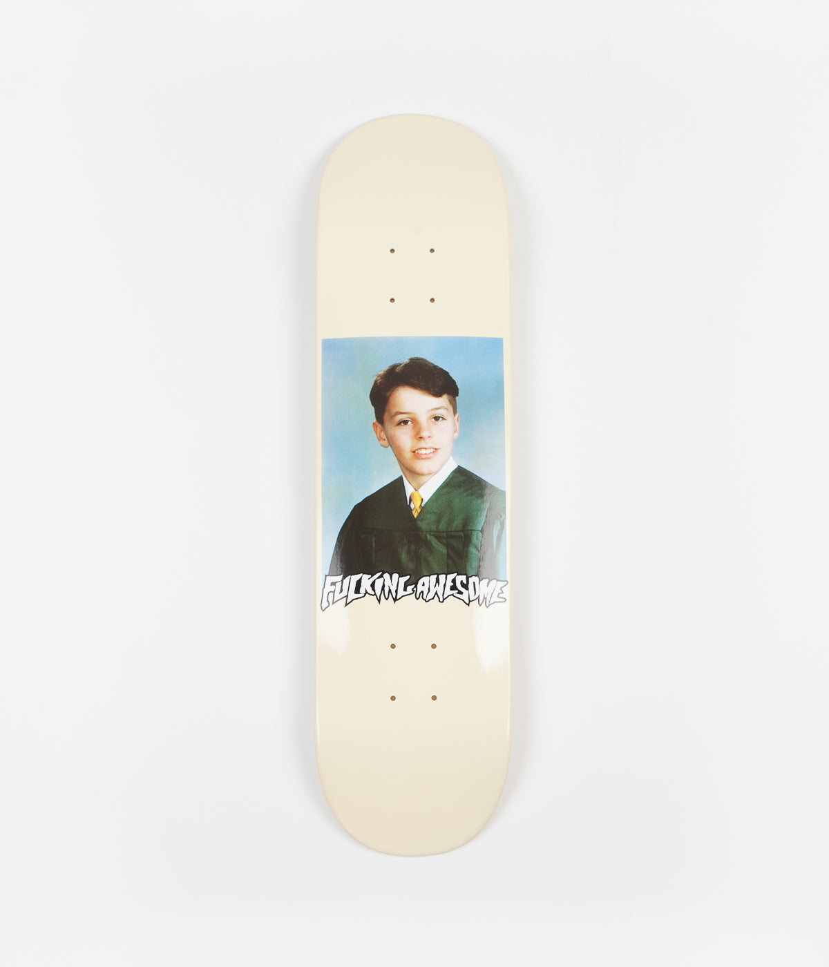 Fucking Awesome Gino Class Photo Dipped Deck - Cream - 8.18""