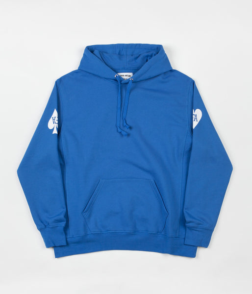 Fucking Awesome Hearts Hooded Sweatshirt - Royal
