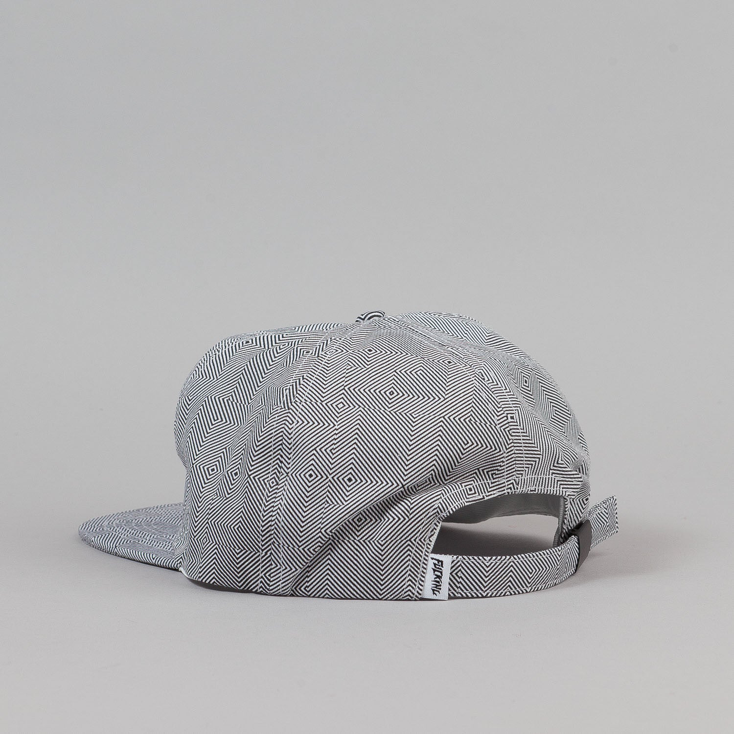 Fucking Awesome Hurt Your Eyes Strapback Cap - White