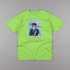 Fucking Awesome Kevin Class Photo T-Shirt - Lime