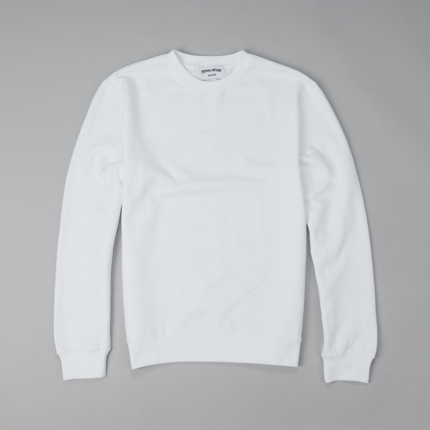 Fucking Awesome Logo Crew Neck Sweatshirt