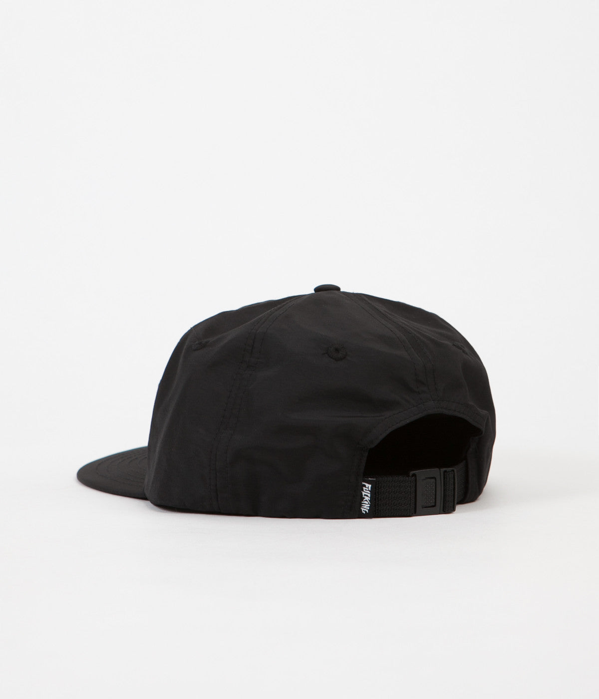 Fucking Awesome Outline Logo Cap - Black