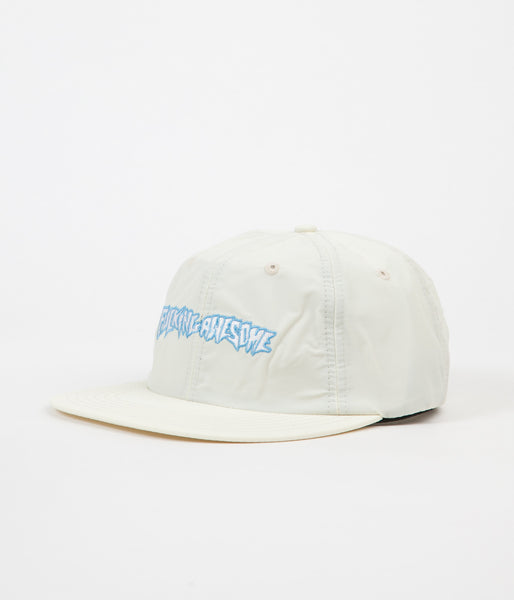 Fucking Awesome Outline Logo Cap - Cream