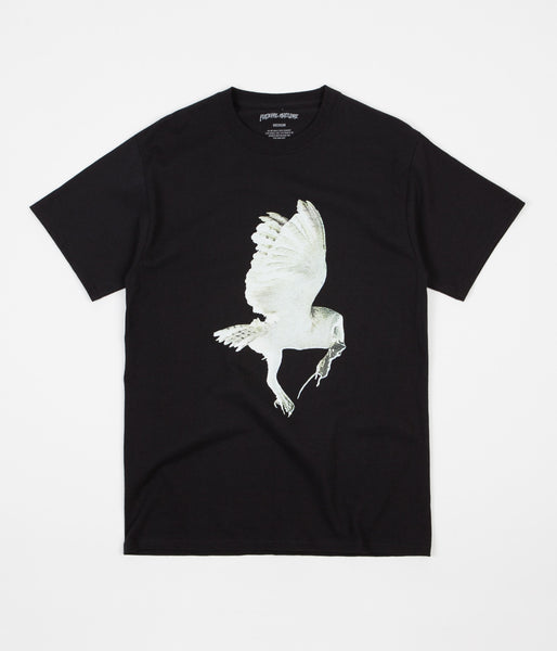 Fucking Awesome Owl T-Shirt - Black