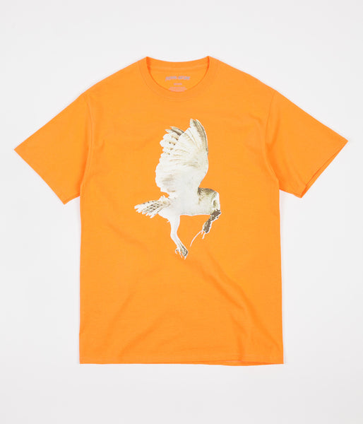 Fucking Awesome Owl T-Shirt - Peach