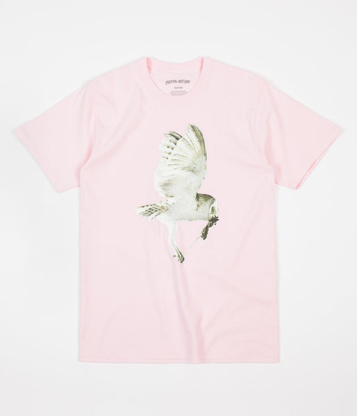 Fucking Awesome Owl T-Shirt - Pink