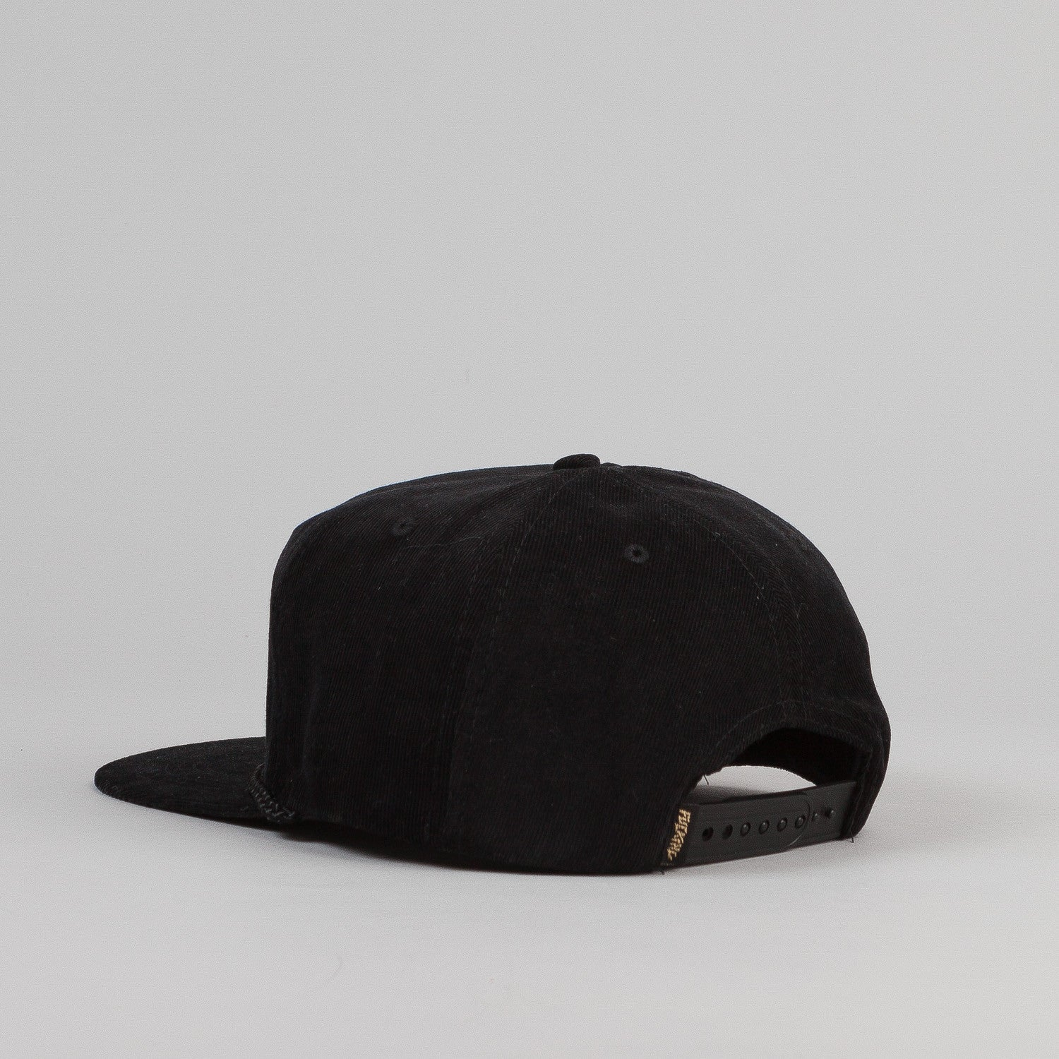 Fucking Awesome Shitsurei Embroidered Snapback Cap - Black