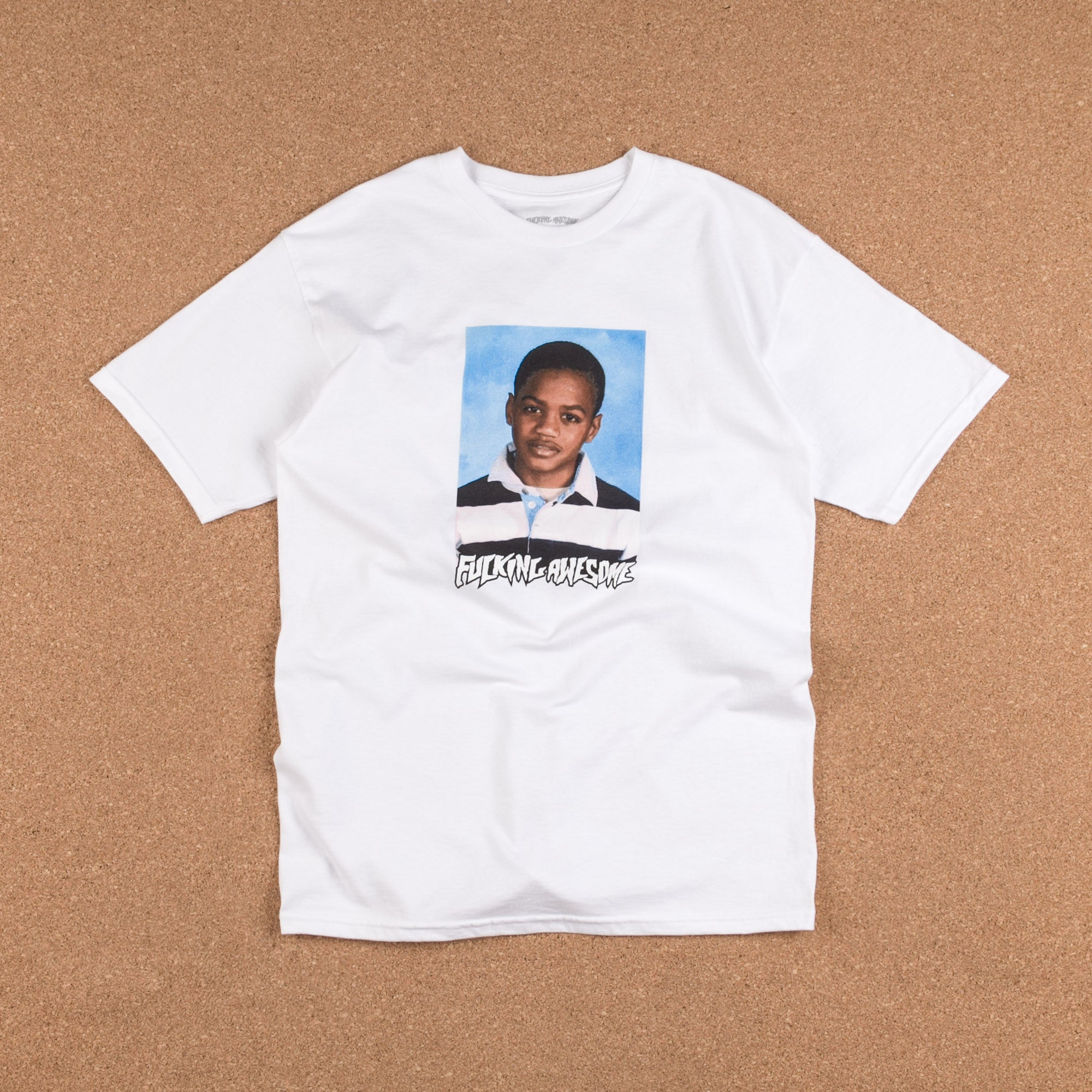 Fucking Awesome Tyshawn Class Photo T-Shirt - White