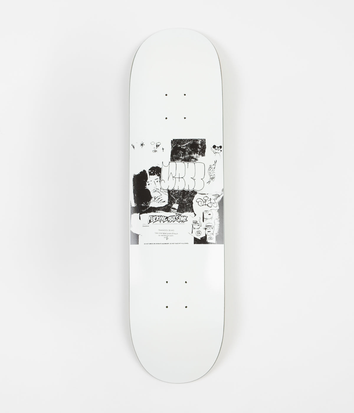 Fucking Awesome Wanto x Dill Deck - 8.25""