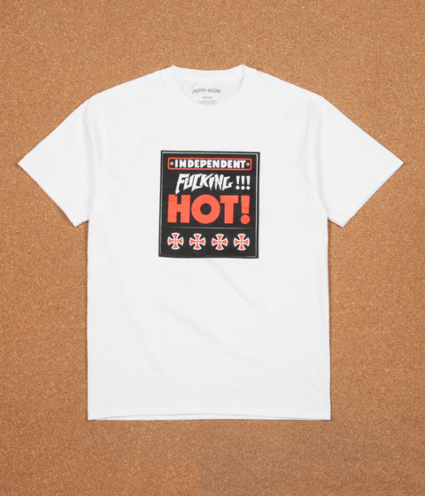 Fucking Awesome x Independent Fucking Hot T-Shirt - White