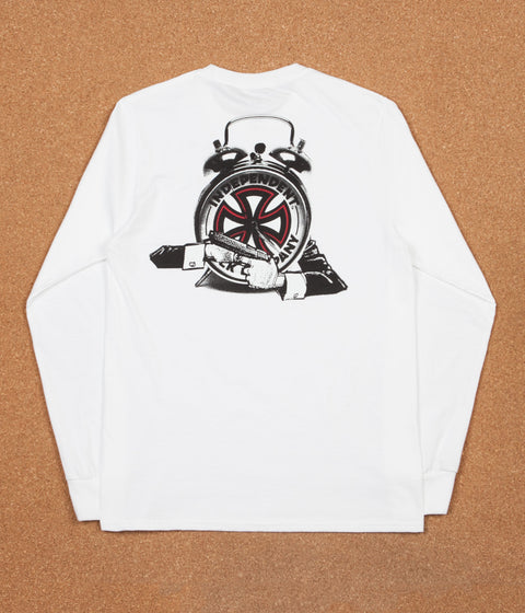 Fucking Awesome x Independent Hostage Long Sleeve T-Shirt - White