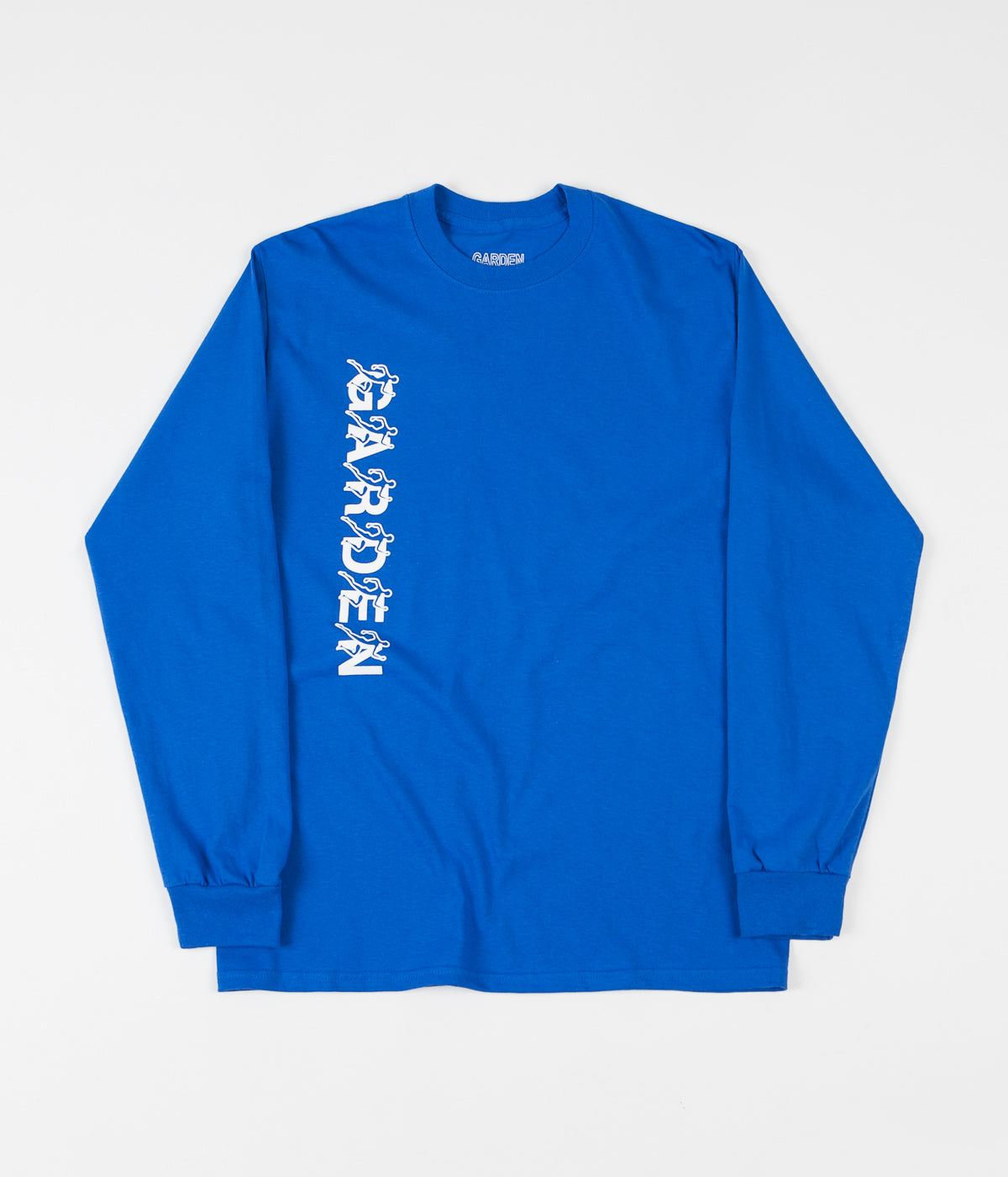 Garden Runner Long Sleeve T-Shirt - Royal Blue
