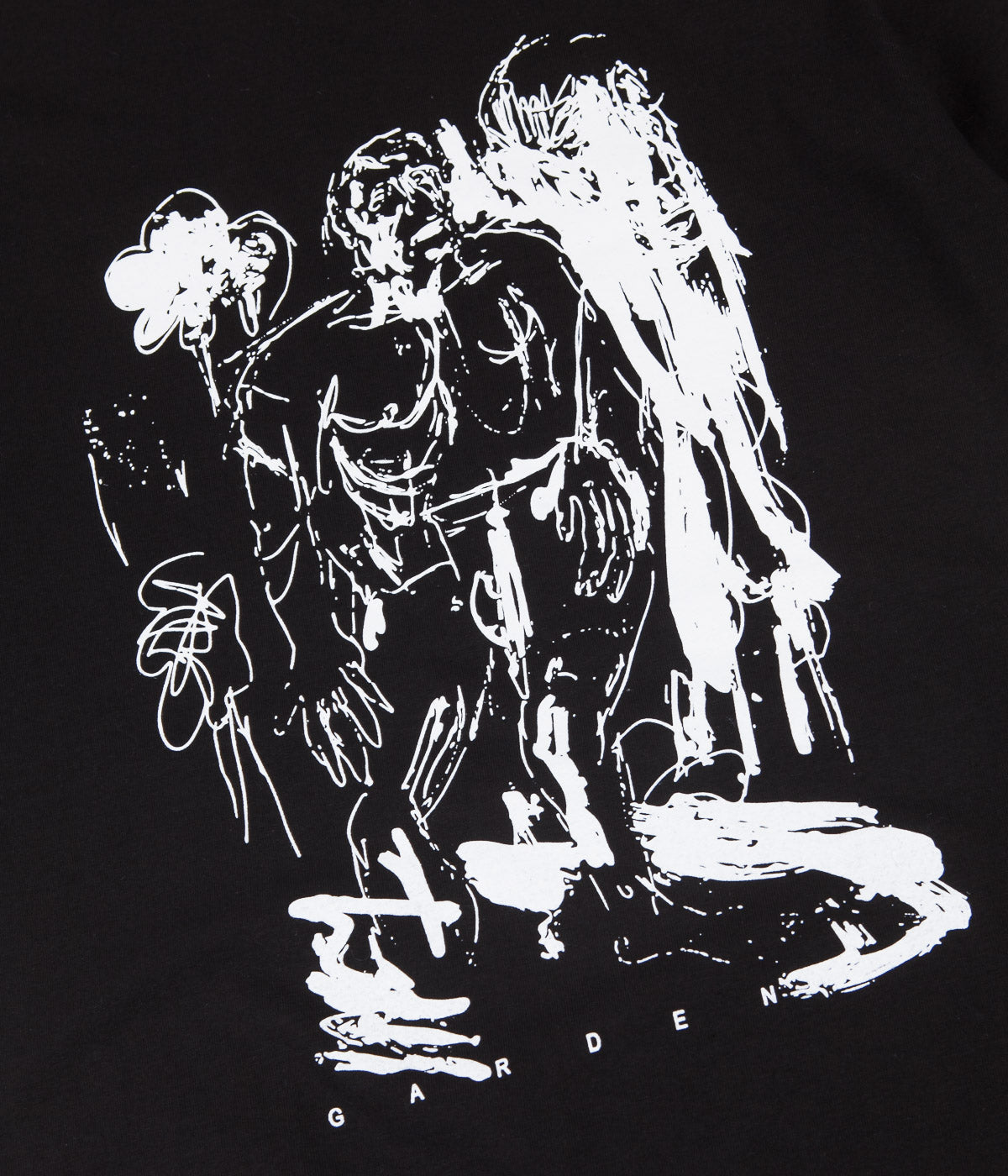 Garden Swampthing T-Shirt - Black