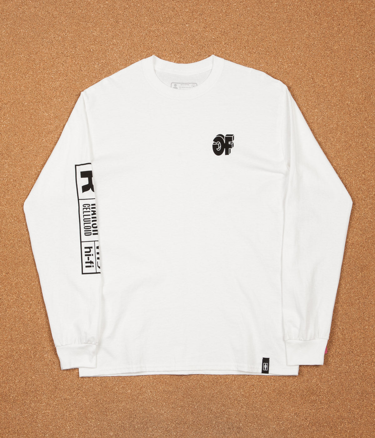 Girl Films Long Sleeve T-Shirt - White