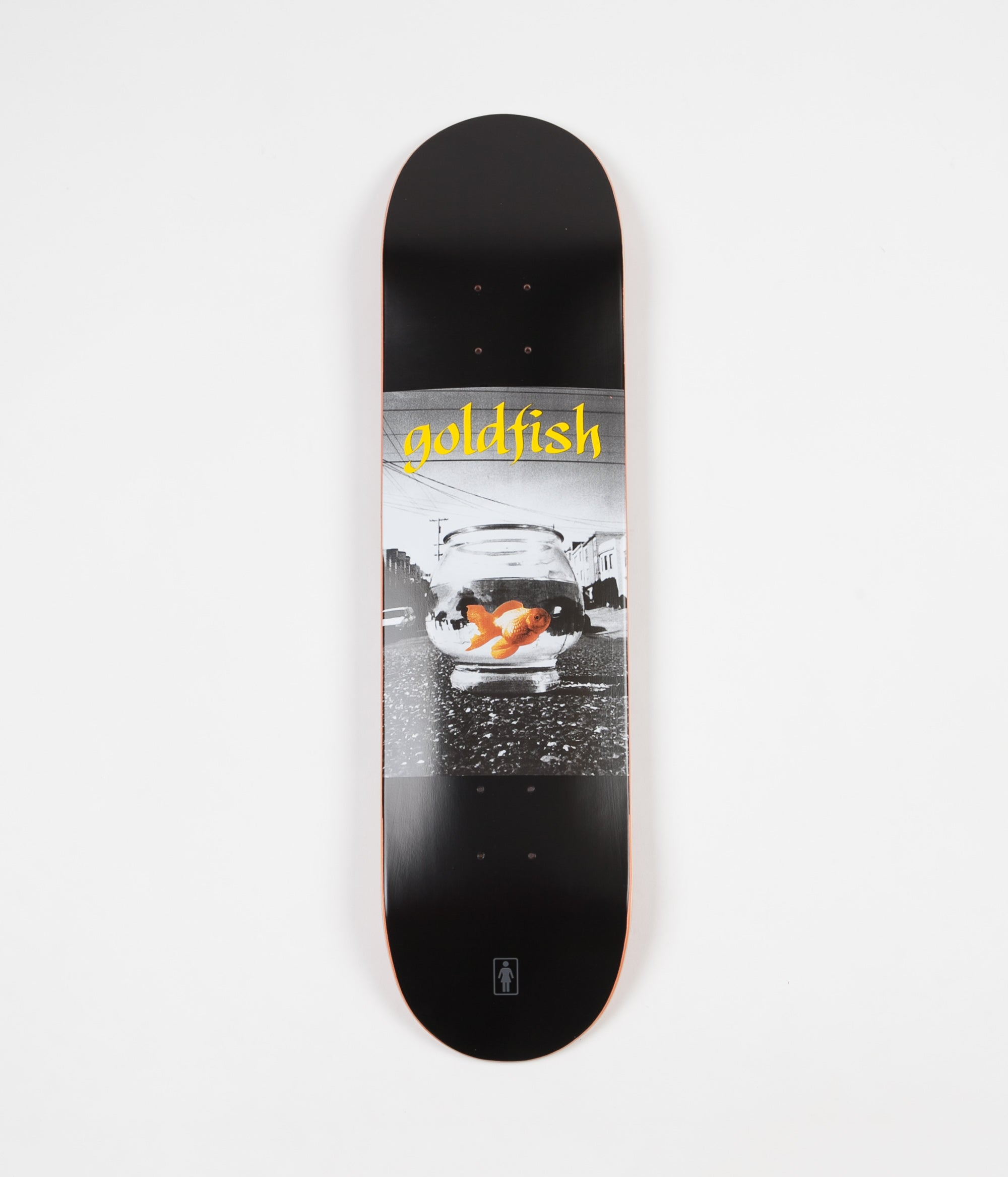 Girl Goldfish Deck - 8.0""