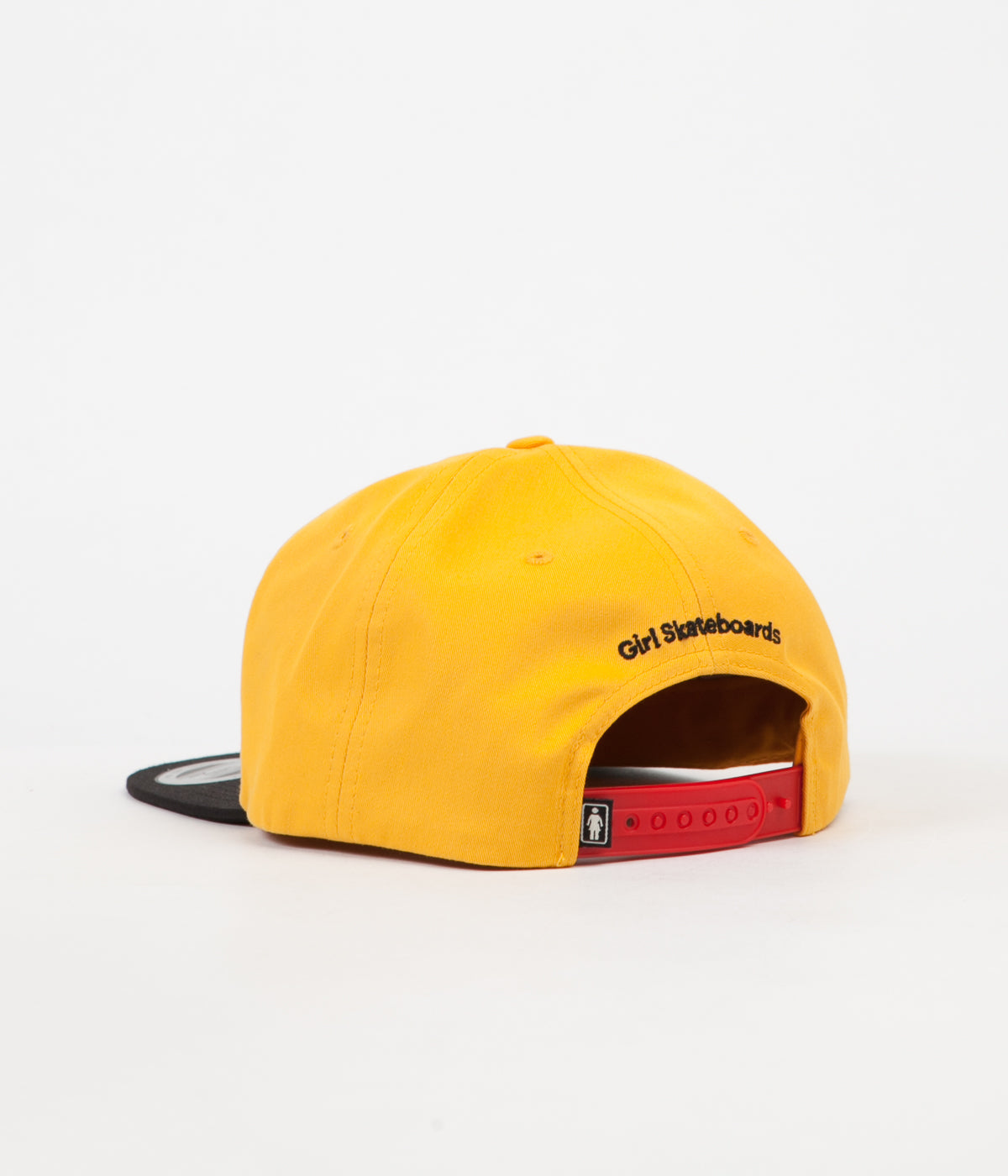 Girl OG Kodak 6 Panel Cap - Black / Gold