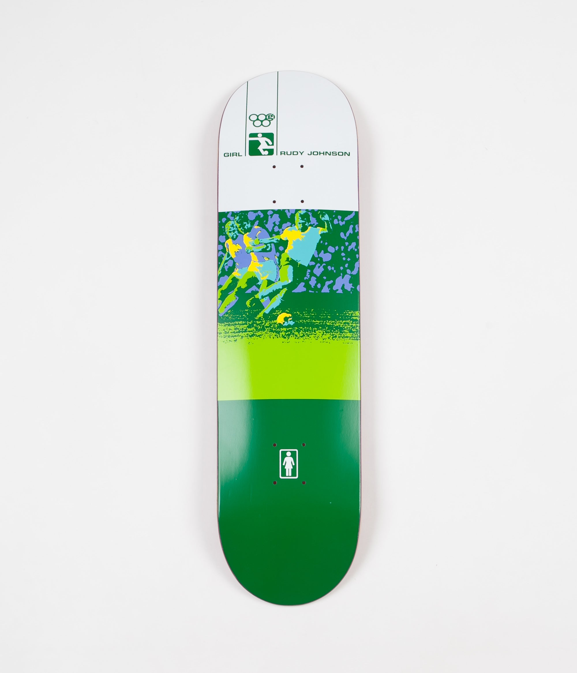 Girl Olympic Futbol Rudy Johnson Deck - 8.25""