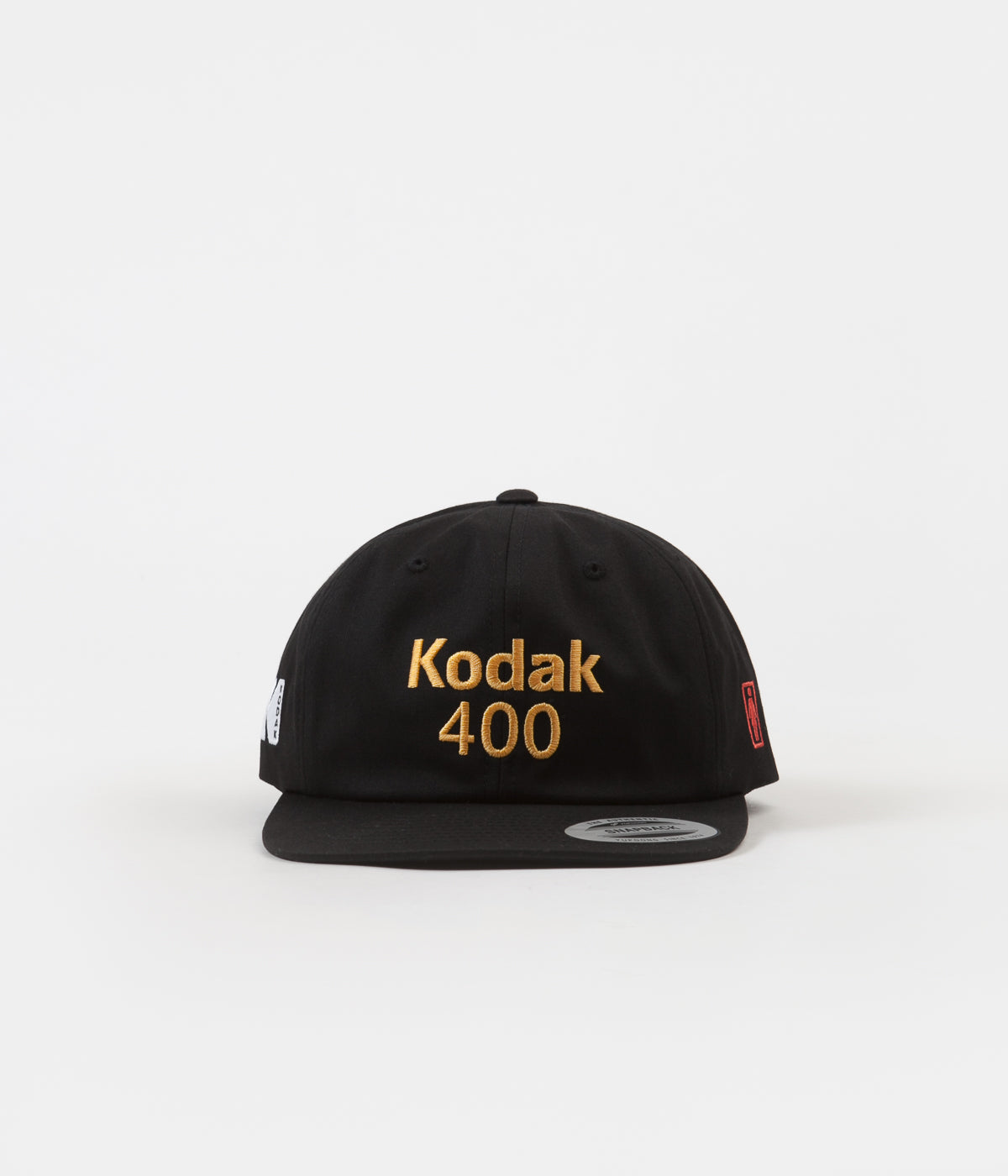 Girl x Kodak Gold 400 6 Panel Cap - Black