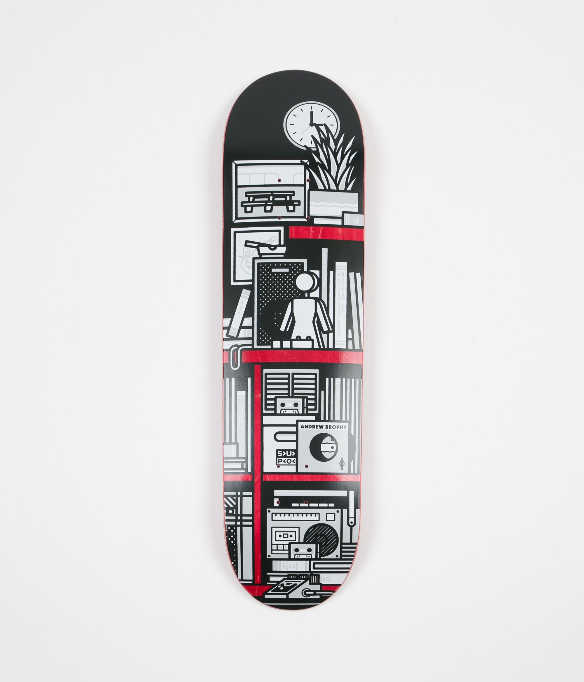 Girl x Sub Pop Andrew Brophy Deck - 8.125""