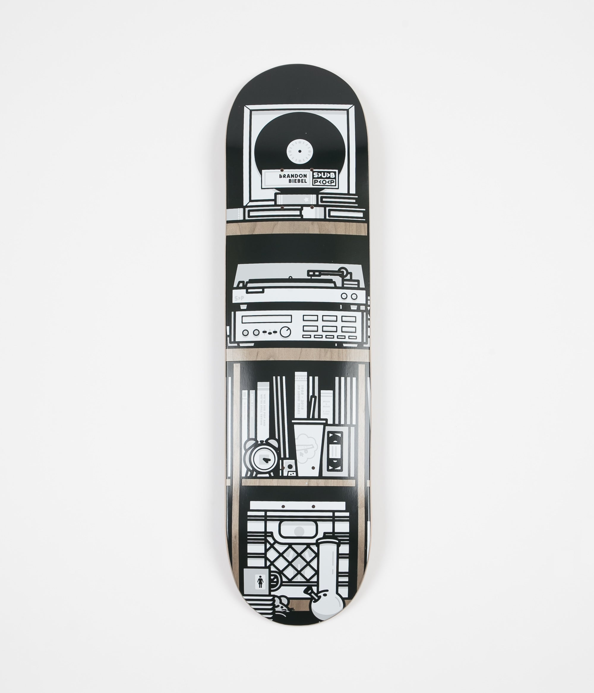 Girl x Sub Pop Brandon Biebel Deck - 8""