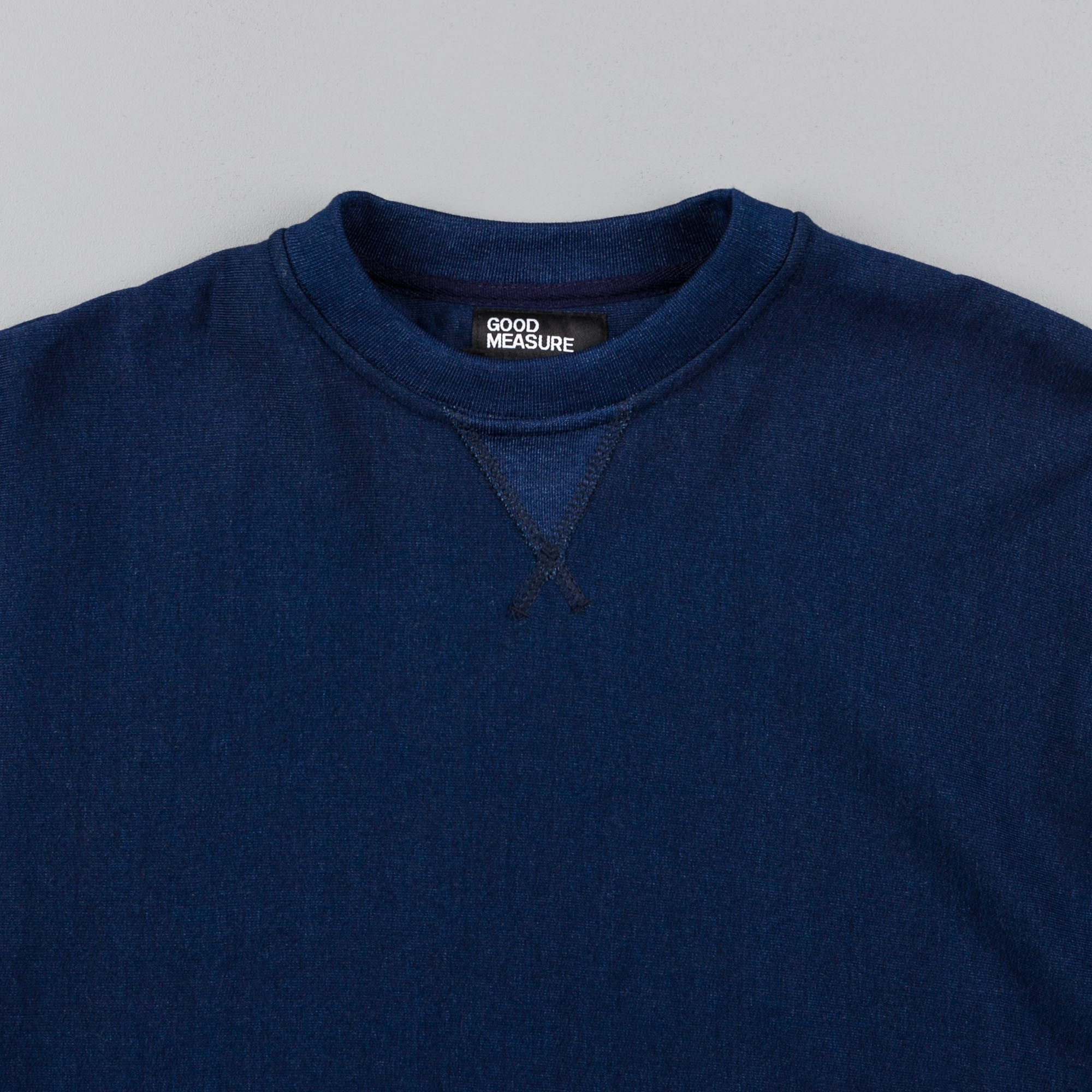 Good Measure M-21 Crewneck Sweatshirt - Indigo
