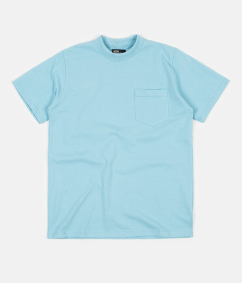Good Measure M-4 'Lonely Hearts' Paul Pocket T-Shirt - Blue