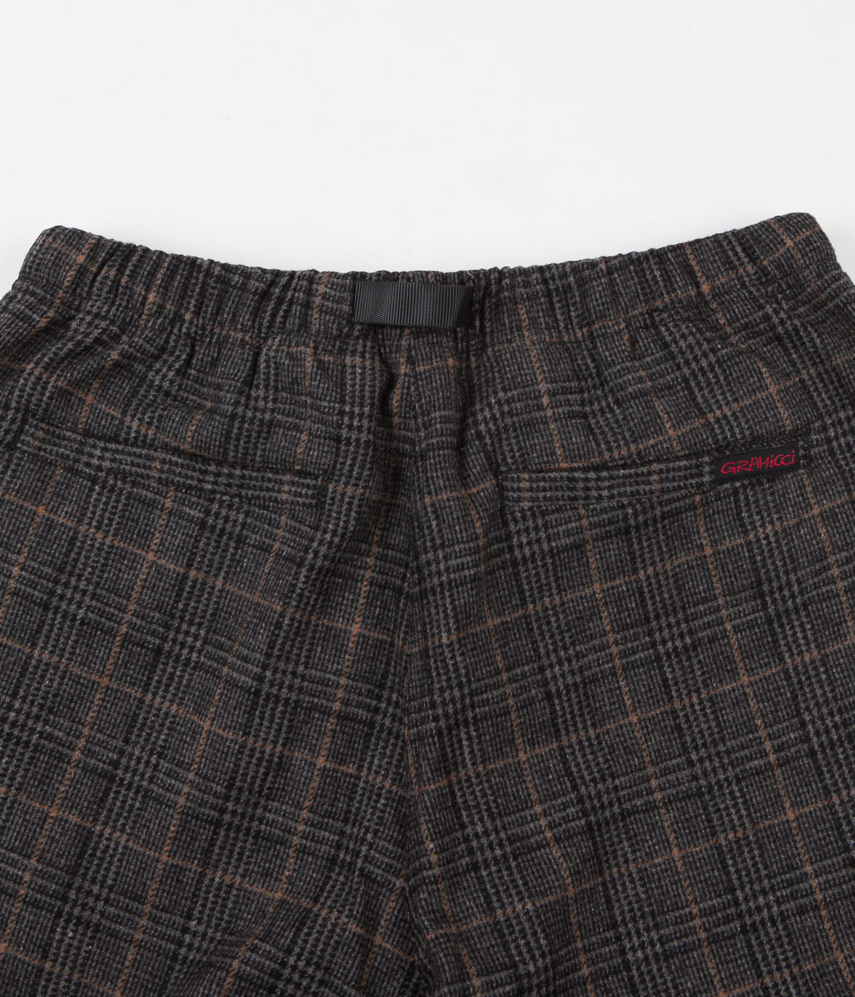 Gramicci Wool Blend Gramicci Pants - Glen Check Grey