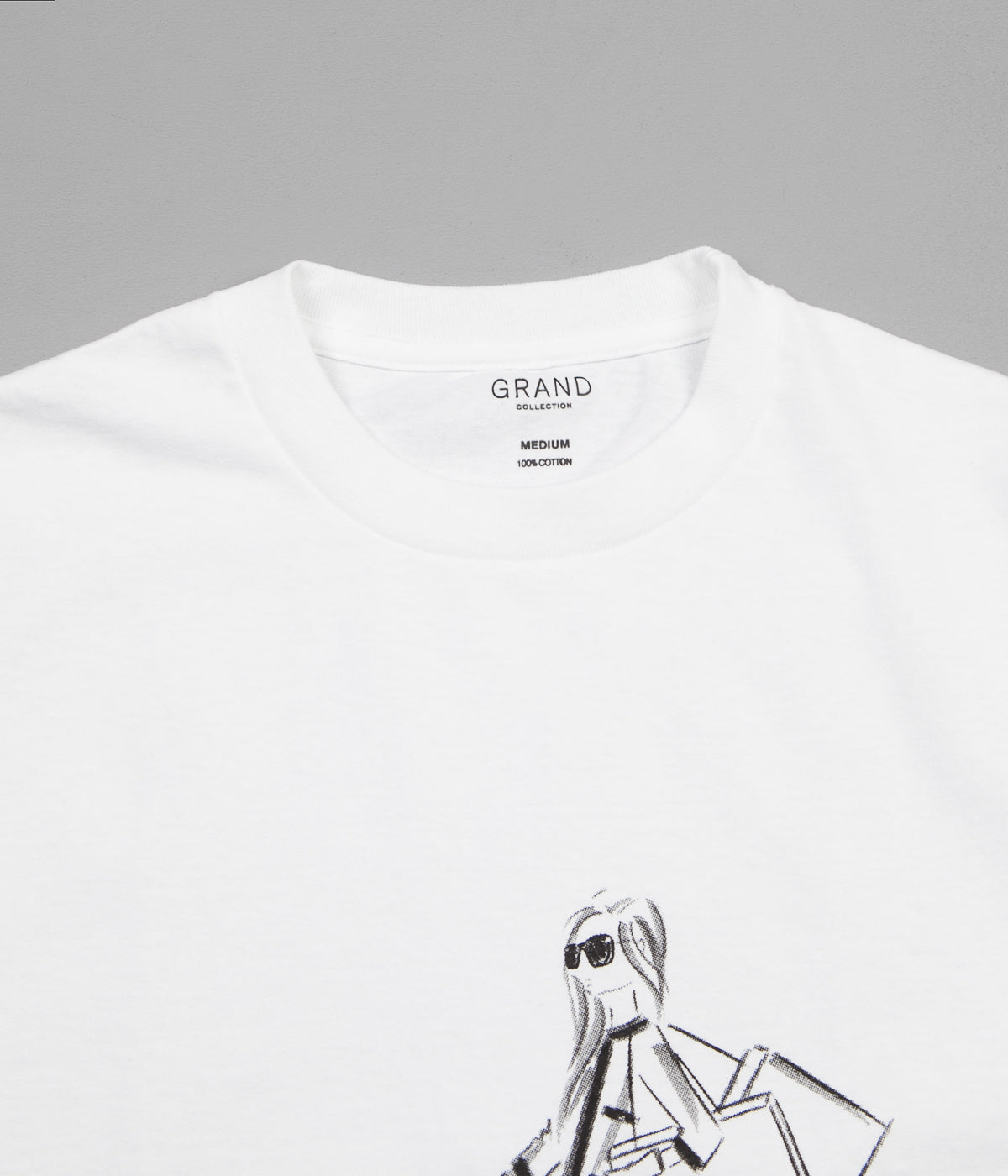 Grand Collection 5th Avenue T-Shirt - White