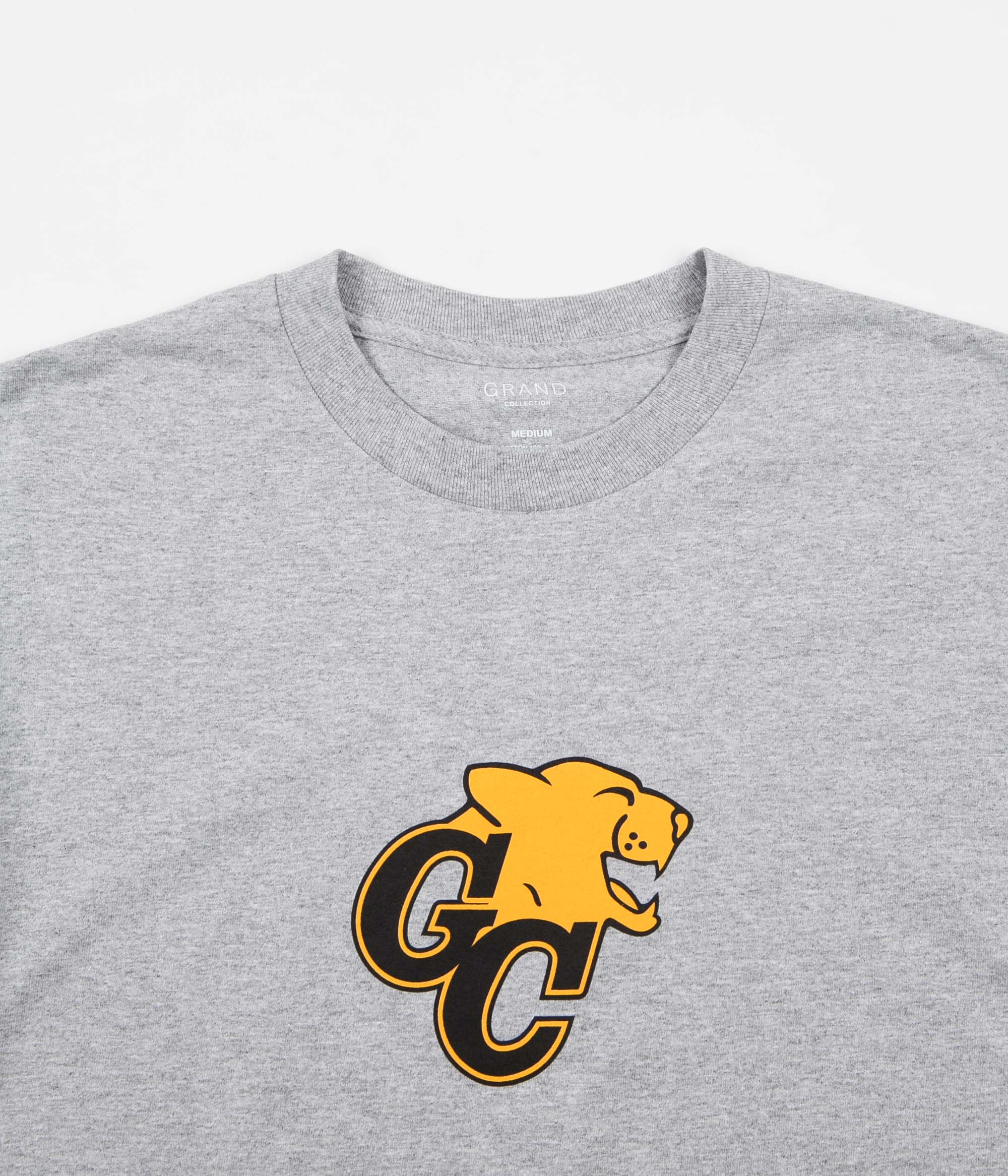Grand Collection GC Lions T-Shirt - Heather Grey