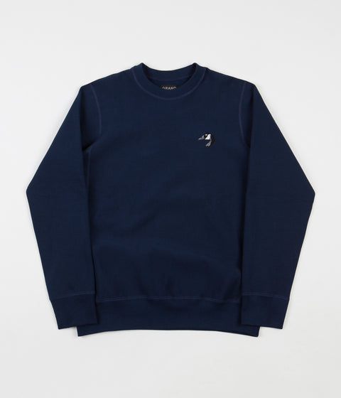 Grand Collection Goose Crewneck Sweatshirt - Navy
