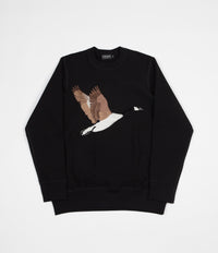 Grand Collection Goose Souvenir Crewneck Sweatshirt - Black