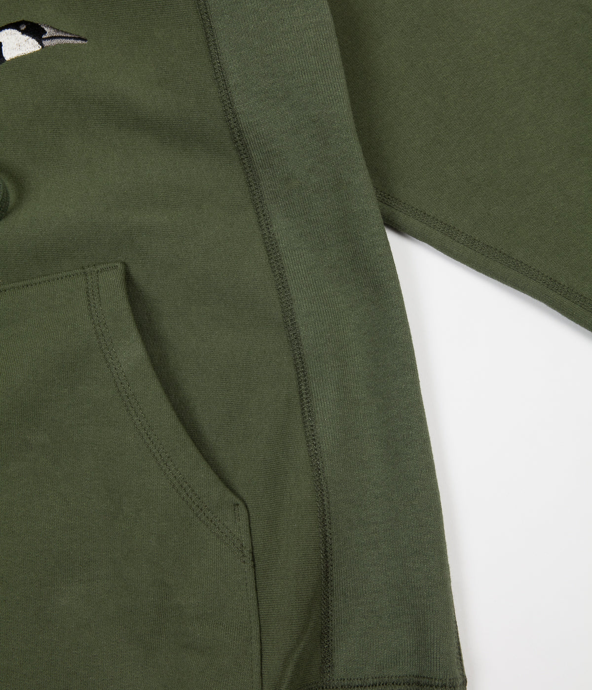 Grand Collection Goose Souvenir Hoodie - Olive