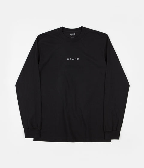 Grand Collection Grand Long Sleeve T-Shirt - Black