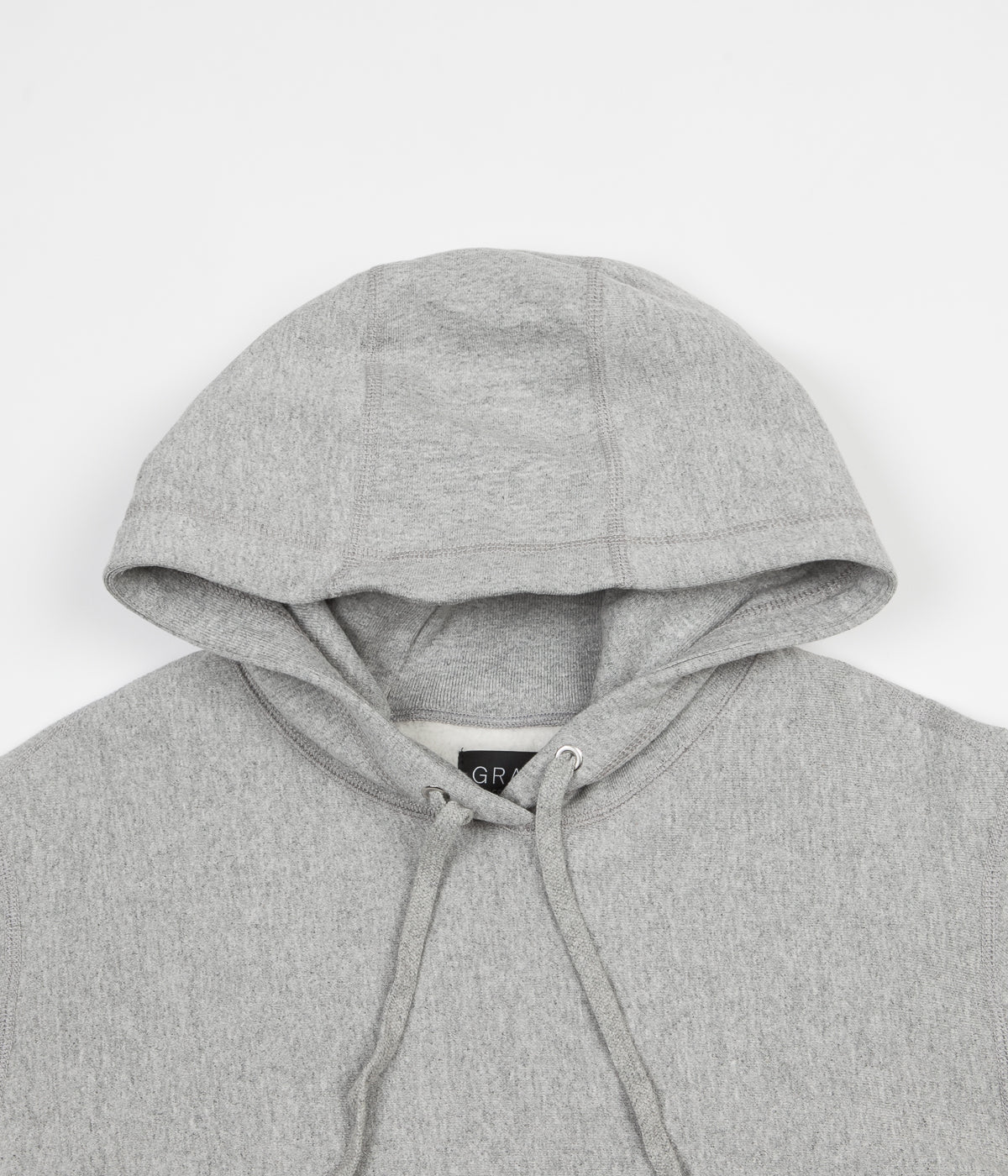 Grand Collection New York Hoodie - Heather Grey