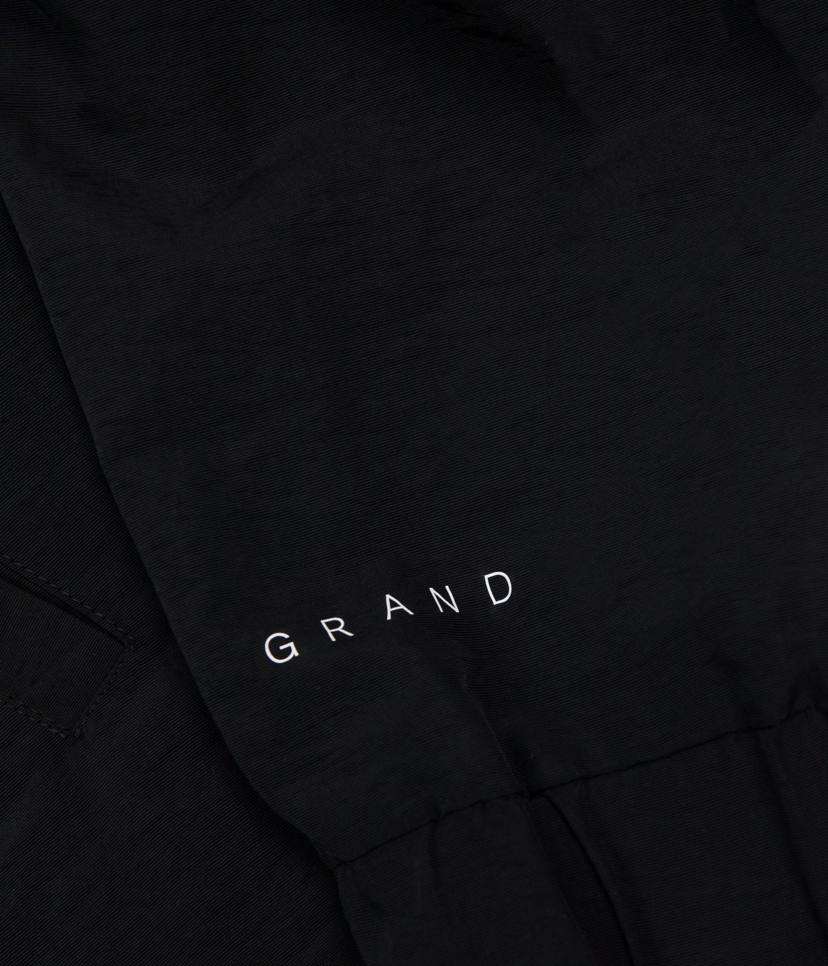Grand Collection Nylon Jacket - Blue / Black / White