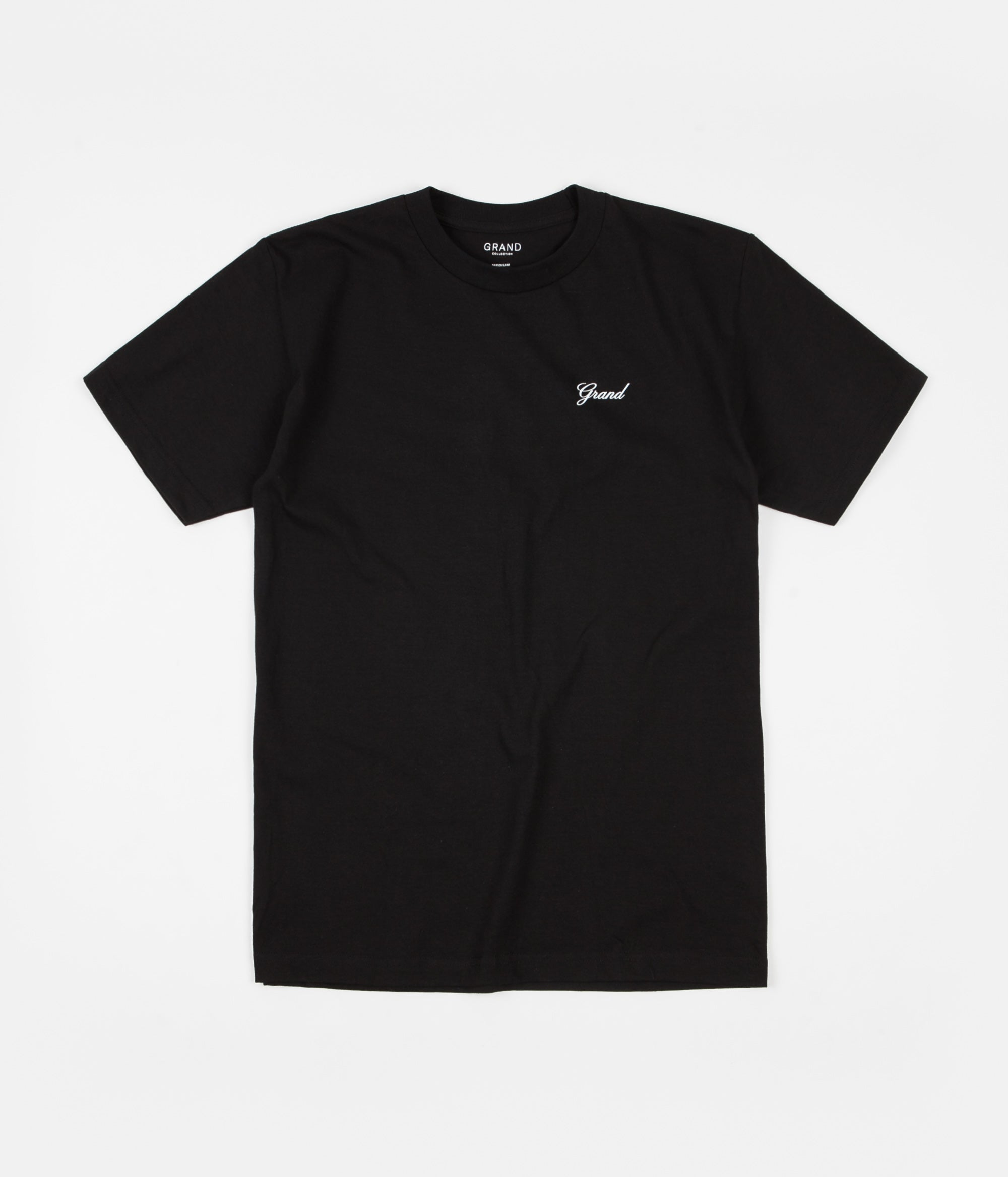 Grand Collection Script T-Shirt - Black