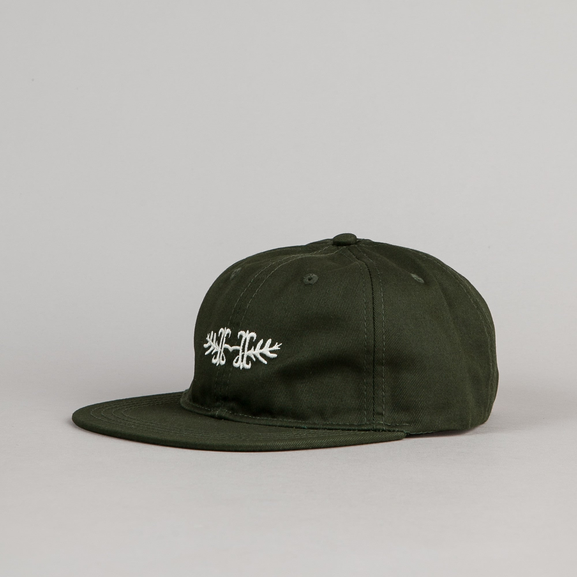 Habitat Skateboards H-Crest Cap - Hunter Green