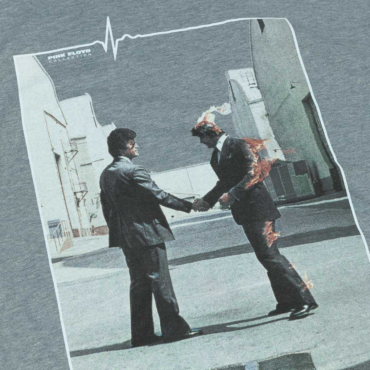 Habitat Skateboards Pink Floyd Wish You Were Here T-Shirt - Heather Grey