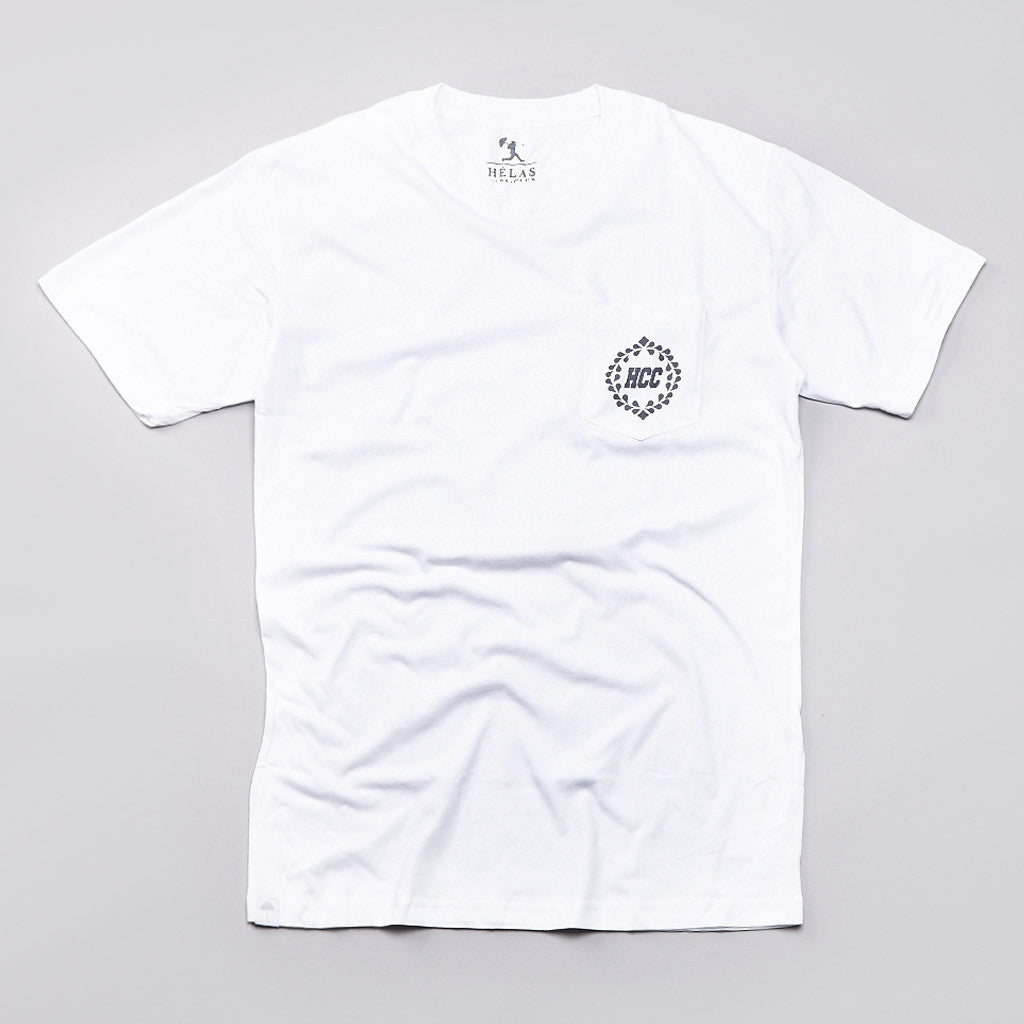 Helas HCC Pocket T Shirt White