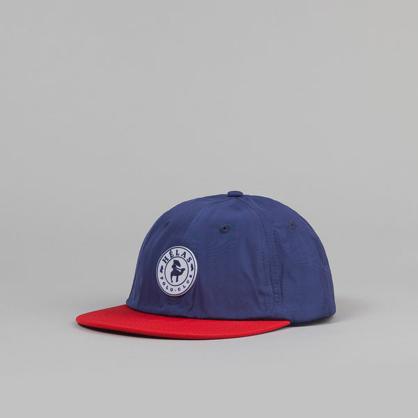 Hĩlas Polo Club 6 Panel Cap - Navy