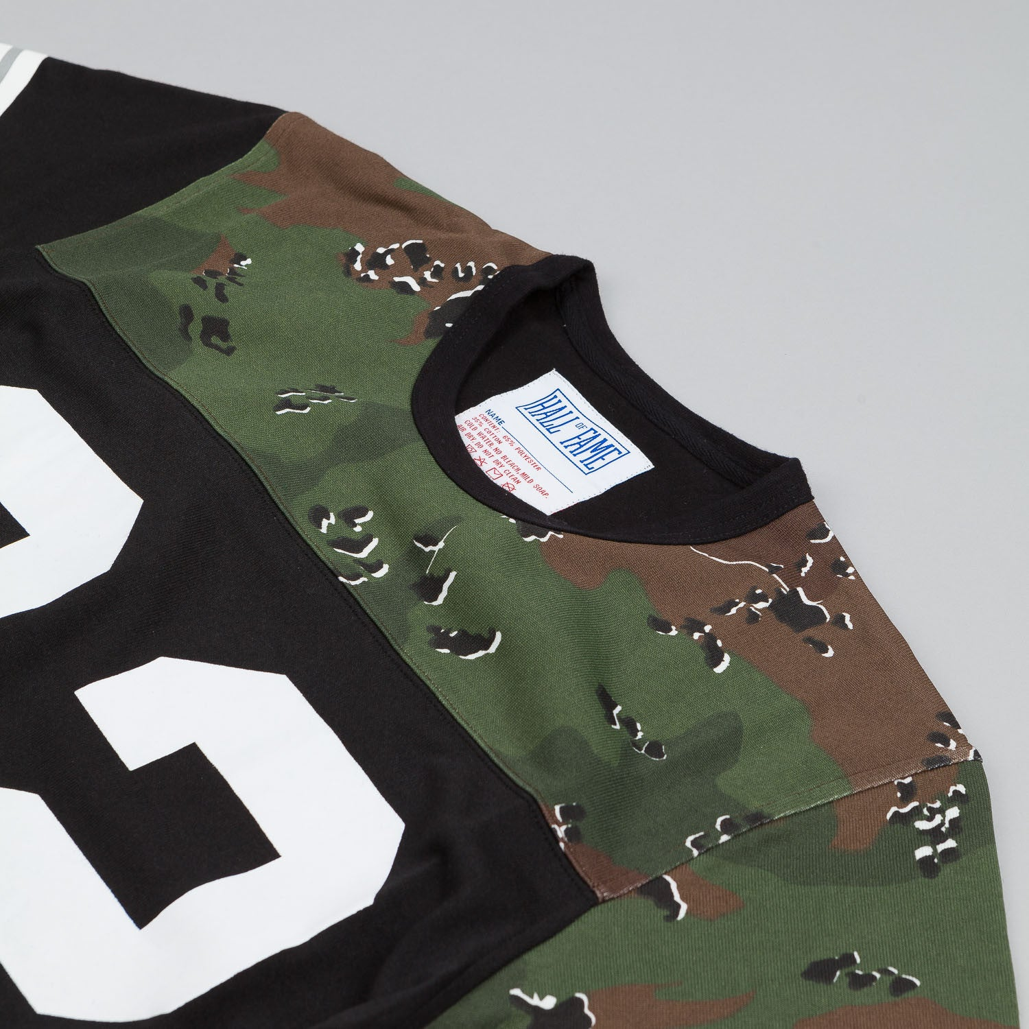 Hall of Fame Mash Up Jersey Black / Camo
