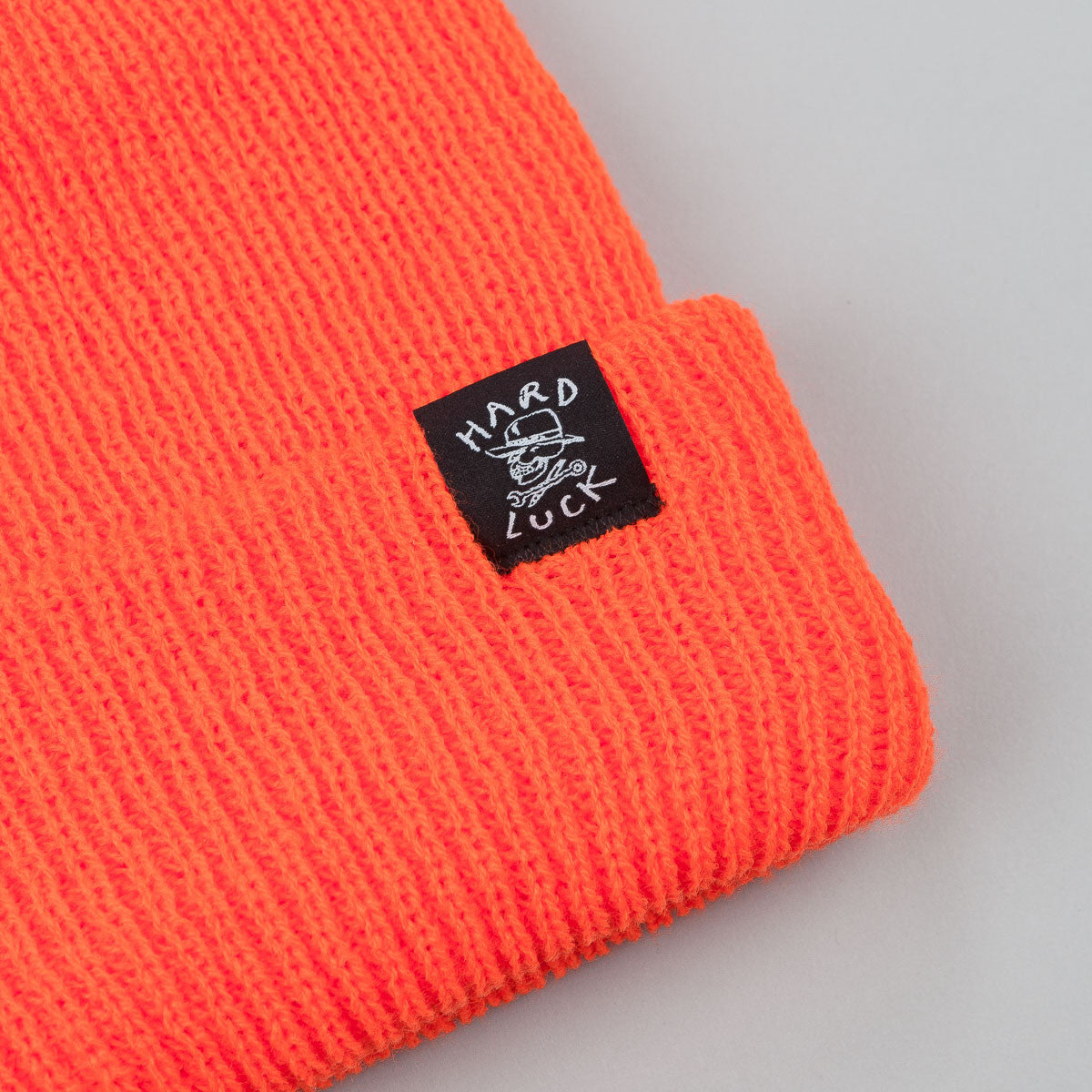 Hard Luck Beanie - Orange