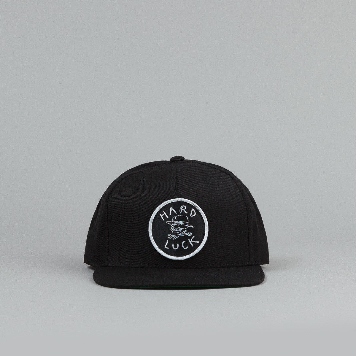 Hard Luck Snapback Cap Black