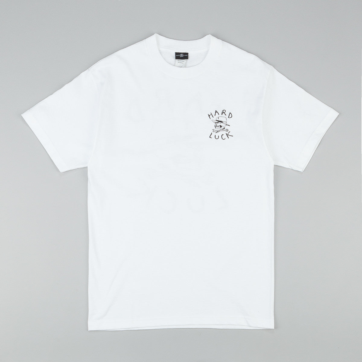 Hard Luck T Shirt White
